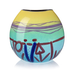 Twilight Large Purse Vase, Barbara Rae