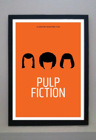 Pulp Fiction Framed, Pedro Vidotto - CultureLabel