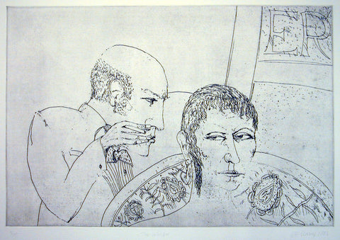 The Whisper, John Bellany - CultureLabel