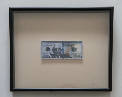 Bank on Bernie - Framed Bernie Sanders $100 Bill - CultureLabel - 1