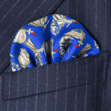 Dervish Dancers Silk Pocket Square, Bivain - CultureLabel - 2