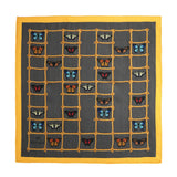 Butterflies & Ladders Silk Pocket Square, Bivain - CultureLabel - 3