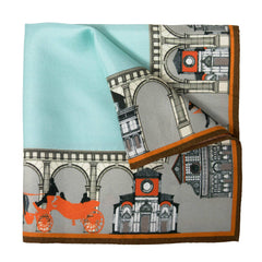 Florentine Silk Pocket Square, Bivain