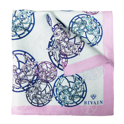 Calibre Silk Pocket Square, Bivain