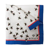 Fly Silk Pocket Square, Bivain - CultureLabel - 1