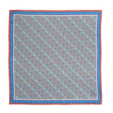 Wimbledon Silk Pocket Square, Bivain - CultureLabel - 3