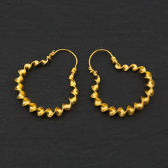 Blair Drummond Torc Earrings, National Museum of Scotland Alternate View