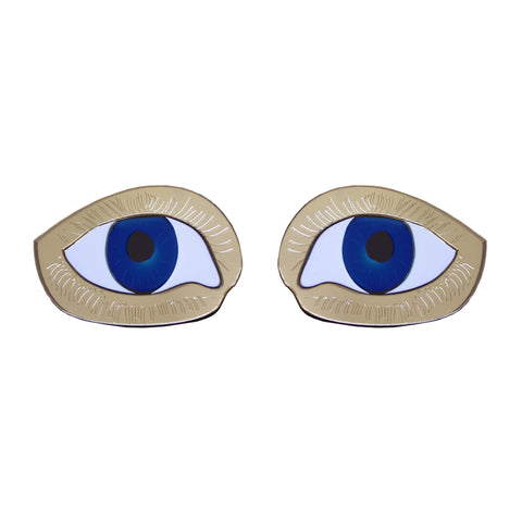 Eye Stud Earrings, National Portrait Gallery