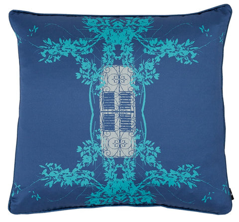 Trinidad Cushion (Blue Quench), KOUAMO - CultureLabel - 1