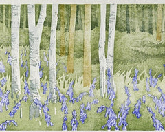 Bluebell Wood. Wet Spring, Laura Boswell Alternate View