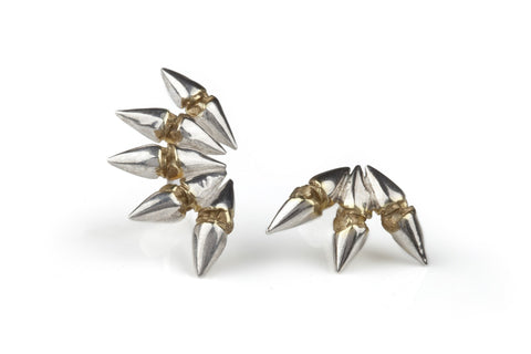 Bow & Arrow Earrings, Ros Millar