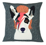 Bow-Wow-ie Dog Cushion, Mia Loves Jay - CultureLabel