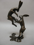 Boxing Hares, David Meredith - CultureLabel - 2