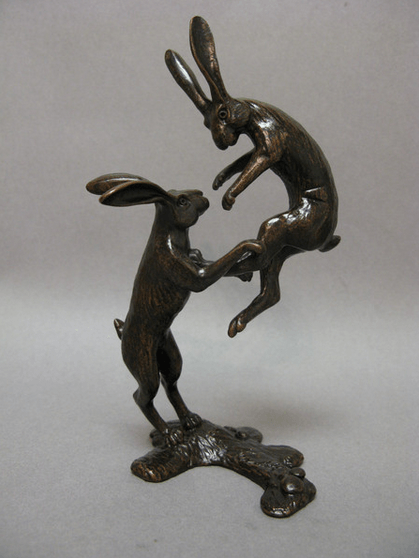 Boxing Hares, David Meredith - CultureLabel - 1