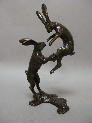 Boxing Hares, David Meredith