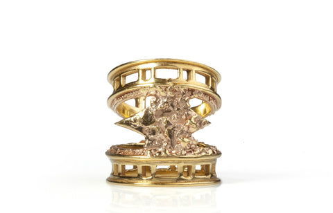 Brick Moon Ring, Ros Millar - CultureLabel