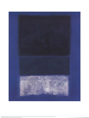 No. 14 White and Greens in Blue, Mark Rothko