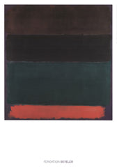 Red-Brown, Black, Green, Red, Mark Rothko