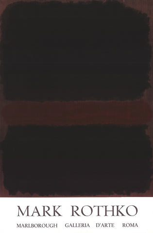 Marlborough Galleria D'arte Roma, Mark Rothko