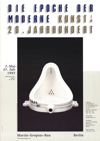 Fountain, Marcel Duchamp - CultureLabel