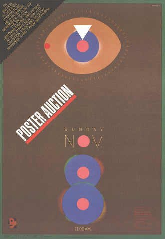 Poster Auction, Milton Glaser - CultureLabel