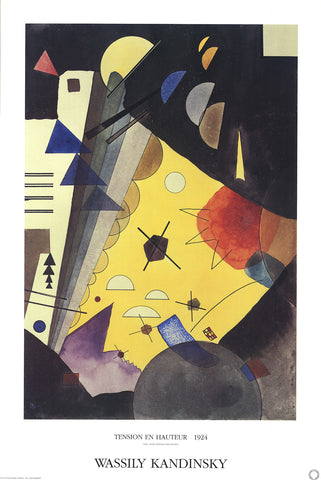 Tension in Height, Wassily Kandinsky - CultureLabel