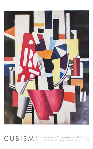 Composition (The Typographer), Fernand Leger - CultureLabel