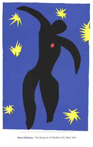 Icarus, from Jazz, Henri Matisse