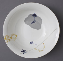 Clover China Bowl, Chimera Collection