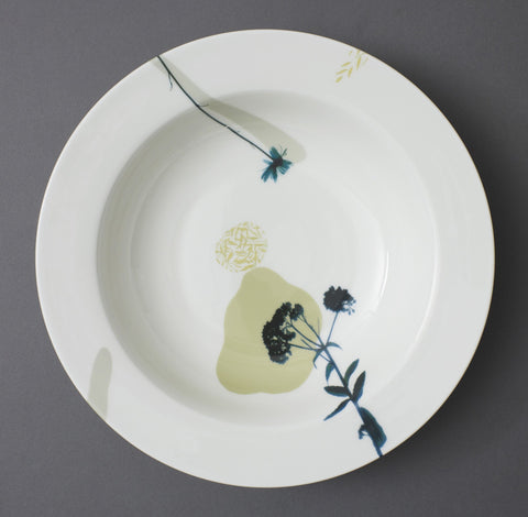 Angelica Wild Carrot Fine Bone China Serving Dish - CultureLabel