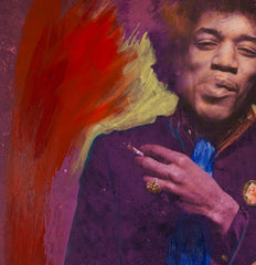 Jimi – Smoking Purple Yellow, 45 RPM Alternate View