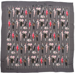 Wonderfully Glamourous Scarf, Bridget Davies