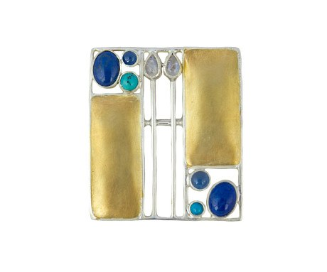 Josef Hoffmann Brooch, The Courtauld Gallery