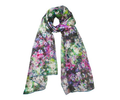 Monet Vase of Flowers Scarf, The Courtauld Gallery - CultureLabel - 1