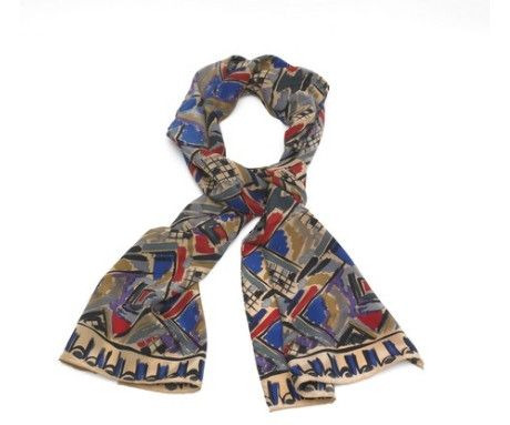 Bloomsbury Silk Scarf, The Courtauld Gallery - CultureLabel