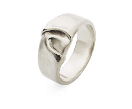 Wide Draped Silk Ring, Jessica Poole - CultureLabel - 1