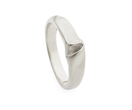 Thin Draped Silk Ring, Jessica Poole - CultureLabel - 1