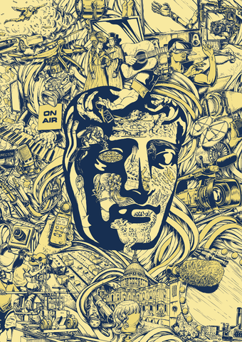 BAFTA 'Craft' TV Craft Awards 2017 Poster Print - CultureLabel