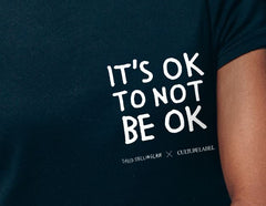 It's OK to not be OK Unisex T-Shirt, David Shillinglaw x Mind Alternate View