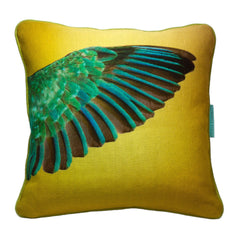 Kingfisher Cushion - Square, Candle Key