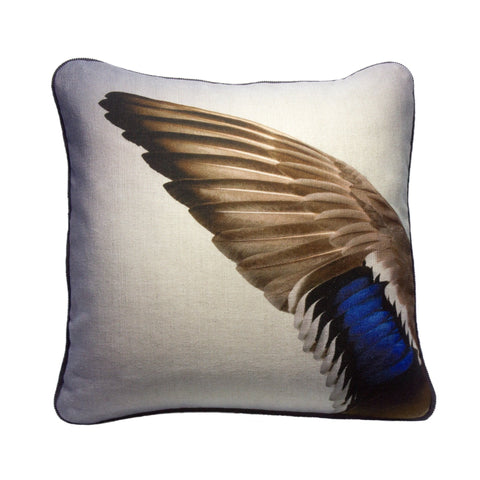 Mallard Cushion - Square, Candle Key - CultureLabel