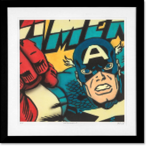 Captain America, Nick Holdsworth - CultureLabel