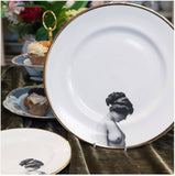 The Girl Bone China Plate, Melody Rose - CultureLabel - 2