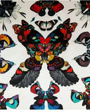 Butterfly Kaleidoscope Silk Cushion Cover, Kristjana S Williams - CultureLabel - 3