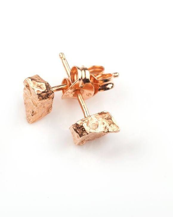 Rectangle Stud Earrings, Ros Millar - CultureLabel - 1