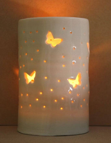 Flutter Maxi Tealight Holder, Luna Lighting Alternate View