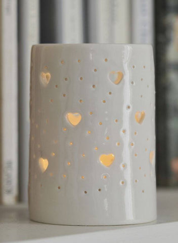 Hearts Maxi Tealight Holder, Luna Lighting