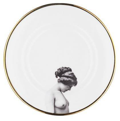 The Girl Bone China Plate, Melody Rose