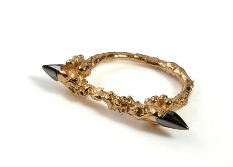 Gold Spike Thorn Ring, Ros Millar - CultureLabel