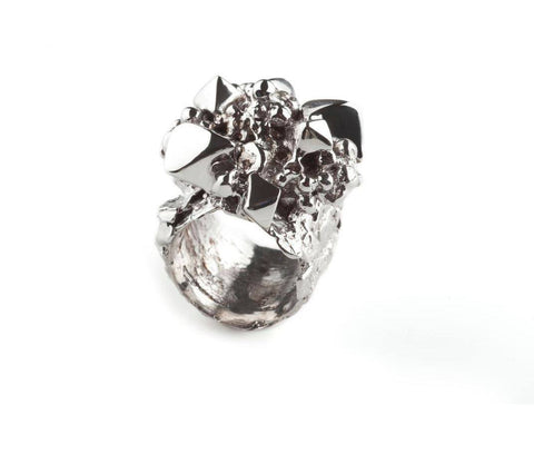White Asteroid Ring, Ros Millar - CultureLabel